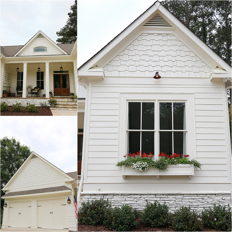 Parade Of Homes Paint Color Scheme And Tour: Beautiful Farmhouse Home Tour